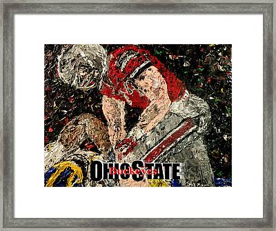 Ohio State Buckeyes  Framed Print