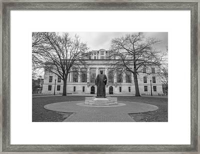 Ohio State University Library  Framed Print