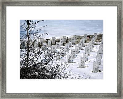 Ohio Western Reserve National Cemetary Framed Print