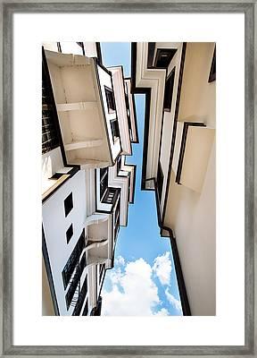 Ohird - Old House 3 Framed Print