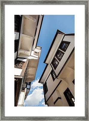 Ohird Old House Framed Print
