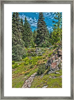 Ohme Gardens Framed Print