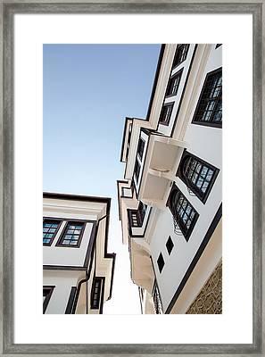 Ohrid Old House Framed Print