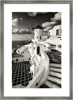 Oia - Santorini - Greece Framed Print