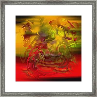 Oil 444 Framed Print