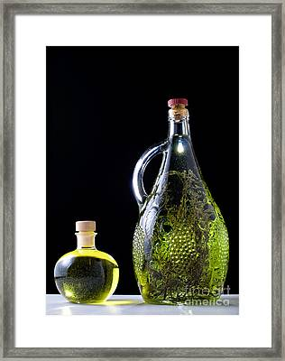 Oil And Brandy Framed Print by Sinisa Botas
