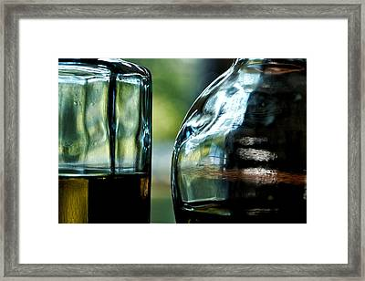 Oil And Vinegar 3 Framed Print by Guillermo Hakim