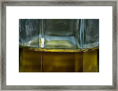 Oil And Vinegar Detail Framed Print by Guillermo Hakim