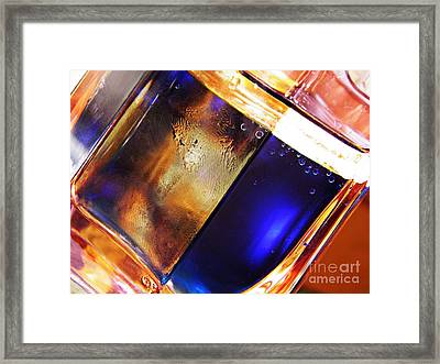 Oil And Water 31 Framed Print