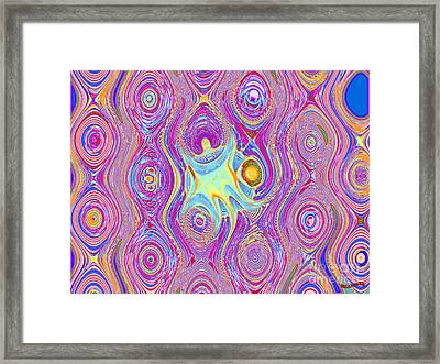 Oil And Water Framed Print by Bobby Hammerstone