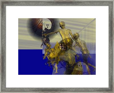 Oil Child Abdution #61_p Framed Print by Stephen Donoho