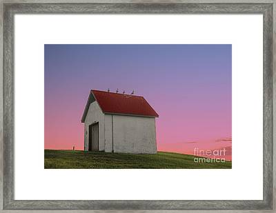 Oil House Framed Print