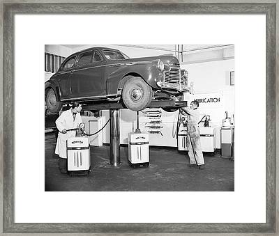 Oil Lube Filter  1944 Framed Print