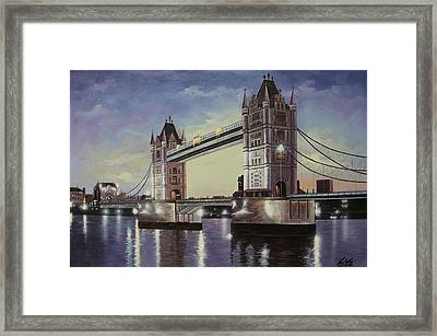 Oil Msc 046 Framed Print