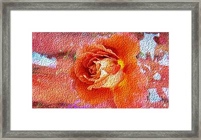 Oil Of Joy Framed Print by Beverly Guilliams