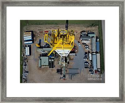 R164_overhead Framed Print