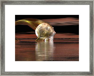 Oil Trap #4 Framed Print by Stephen Donoho