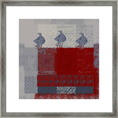 Oiselot - 106161103-02aa Framed Print by Variance Collections