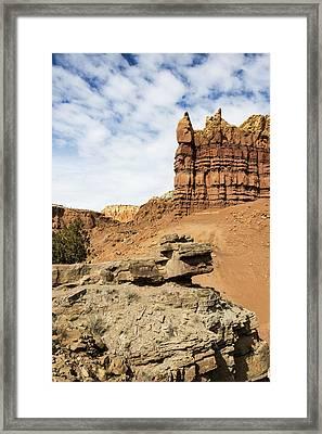 Ojitos De Los Gatos 2 - New Mexico Framed Print by Brian Harig