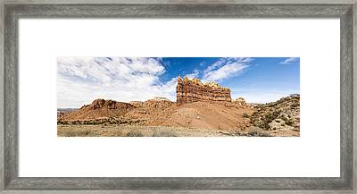 Ojitos De Los Gatos Panorama - New Mexico Framed Print by Brian Harig
