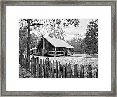 Okefenokee Home Framed Print by Southern Photo