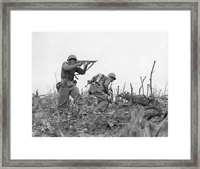 Okinawa, 1945 Framed Print by Granger