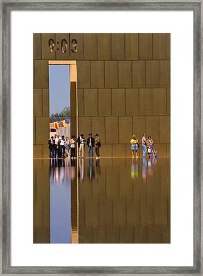 Oklahoma City Memorial Framed Print