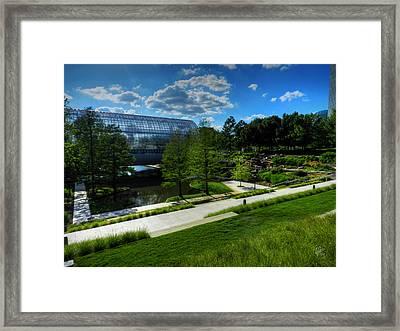 Oklahoma City - Myriad Botanical Gardens 001 Framed Print