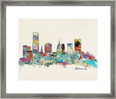 Oklahoma City Oklahoma Framed Print