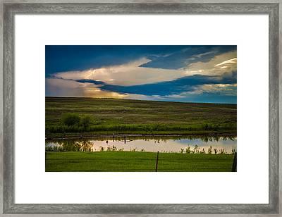 Oklahoma Landscape Framed Print
