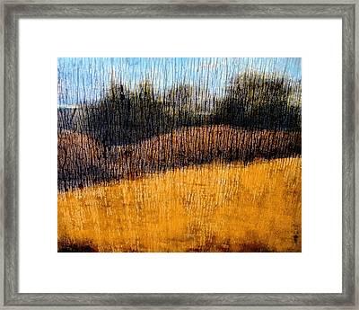 Oklahoma Prairie Landscape Framed Print