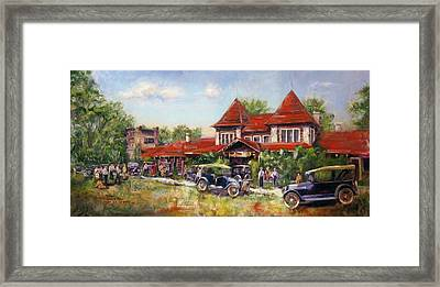Oklahoma Row Framed Print