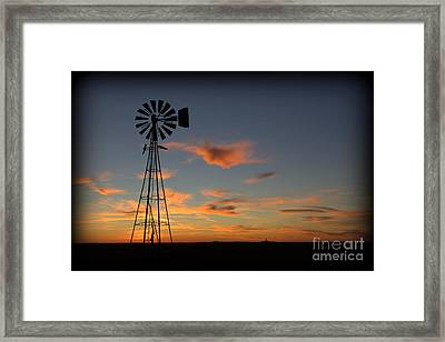 Oklahoma Skies 1 Framed Print by Jim McCain