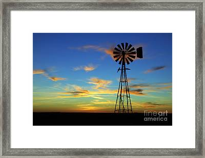 Oklahoma Skies 2 Framed Print by Jim McCain