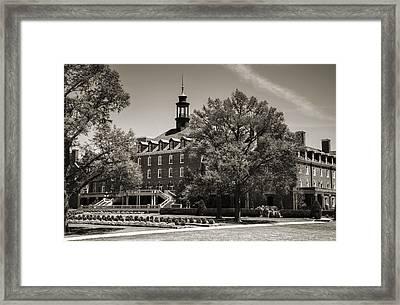 Oklahoma State Student Union Framed Print by Ricky Barnard