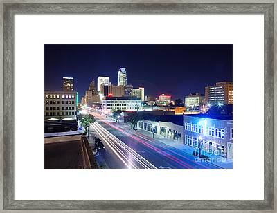Oks001-2 Framed Print by Cooper Ross