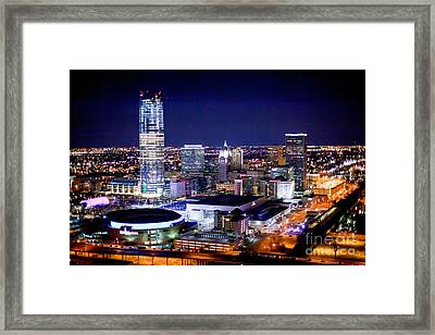 Oks001-23 Framed Print by Cooper Ross