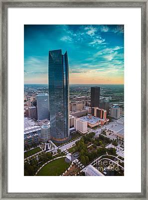 Oks007-47 Framed Print