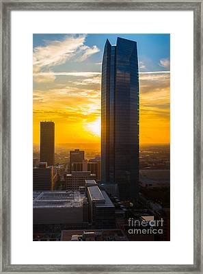 Oks007-62 Framed Print