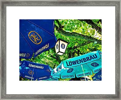 Oktoberfest Framed Print by Jean Hall
