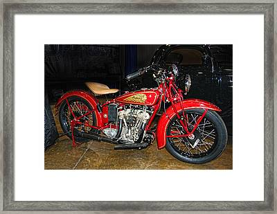 Ol Indian Framed Print by Bill Dutting