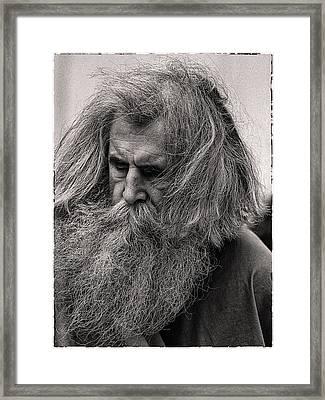 Ol Mose Framed Print by Hal Norman K