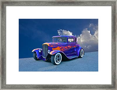 Ol' School Model A Framed Print by Dave Koontz