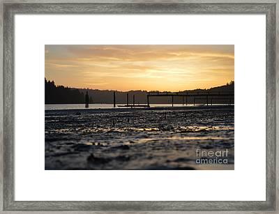 Ol' Ship Dock 2 Framed Print by Sheldon Blackwell
