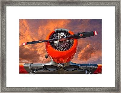 Ol' Thunder Framed Print by Joe Hudspeth