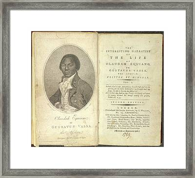 Olaudah Equiano Framed Print by British Library