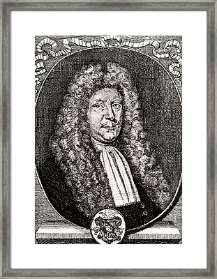 Olaus Borrichius Framed Print by Universal History Archive/uig
