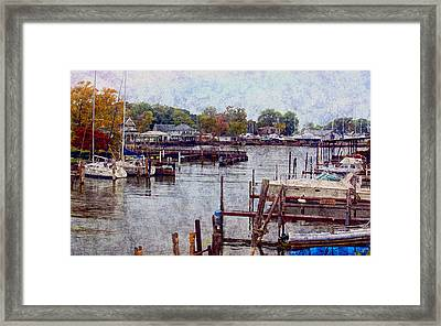 Framed Print featuring the photograph Olcott by Tammy Espino