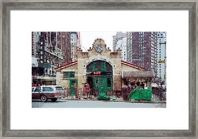 Old 72nd Street Station - New York City Framed Print
