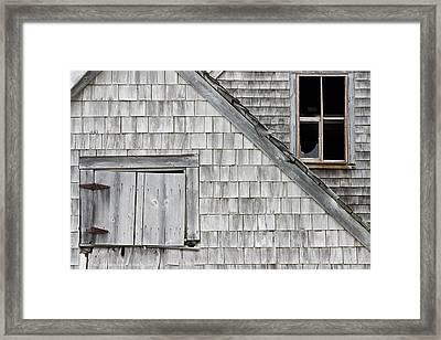 Old Abandoned Building Framed Print by Keith Webber Jr